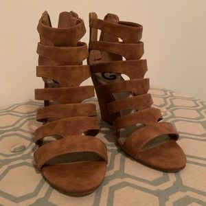 GUESS Suede Wedges